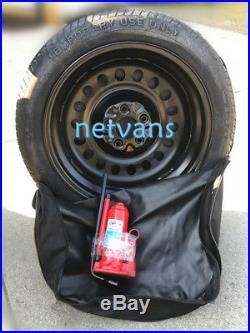 Spare Wheel Spare 17 For Nissan Qashqai From 2014 With Car Jack Key And Bag