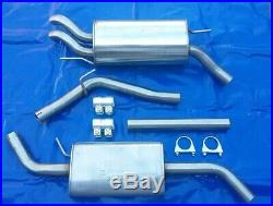 Stainless Exhaust System from Kat all Vw T4 1.9 2.0 2.4 2.5 2.9 short Wheel