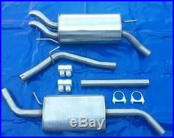 Stainless Steel Exhaust System from Kat all VW T4 1.9 2.0 2.4 2.5 2.9 Long Wheel
