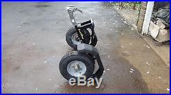 Superwide wheeled dolly/trailer 150mm from fastrikes