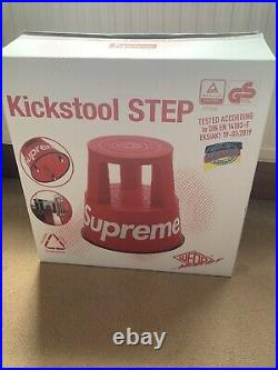Supreme x Wedo Step Stool Red / Collection from Cambridge / One Size