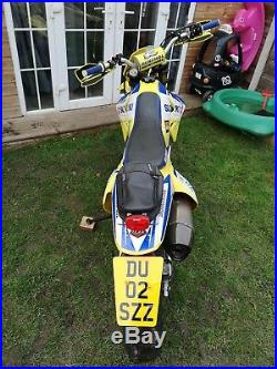 Suzuki DRZ 400 S Supermoto 02 off road wheels included 2910 miles from new