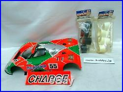 TAMIYA 1/10 RC Mazda 787B Pre-Painted Body Parts Kit & Wheel 2 Set from Japan