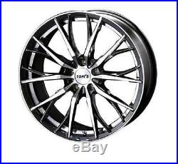 TOM'S TH01 wheels for LEXUS RX/F SPORT 20x8.5J +35 5x114.3 set of 4 from JAPAN