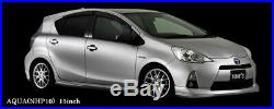 TOM'S TM-05 15x5.5J +40 4x100 6.0kg Silver wheels for TOYOTA from JAPAN