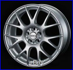 TOM'S TM-05 6.5J-16 +38 5x114.3 Silver wheels for TOYOTA PRIUS V from JAPAN