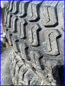 Turf Tyres And Wheels From New Holland Boomer 50