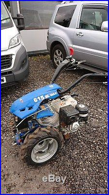 Two Wheeled Tractor Rotavator Tiller Sweeper Warrior from Titan Pro