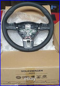 VW Steering Wheel with DSG paddles New In Box VW OEM Ships From USA