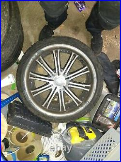 Vauxhall Vivaro Wheels/ Alloys from a 2010 model. All new tyres barely used