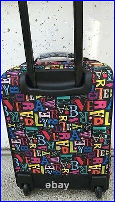 Vera Bradley 20 Rolling Upright From A to Vera Multi-Color Frill Collection$190