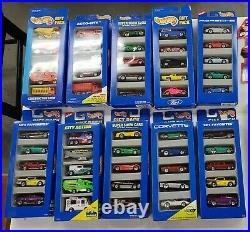 Vintage Lot of (50) NEW Hot Wheels from 1990-98 NEW Mint in Packages Mattel