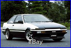 WORK Equip01 Wheels rims 15x7J +7 set of 4 for TOYOTA AE86 etc. From JAPAN