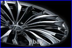 Weds Kranze Felsen 358EVO 21x8.5J +35 5x114.3 wheels for LEXUS RX from JAPAN