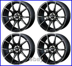 WedsSport SA10R weds 10R 18x8.5 +35 5x114.3 ZBB from Japan 4 Rims JDM Wheels