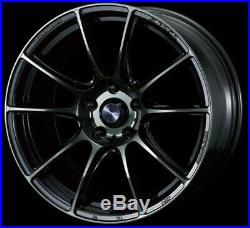 WedsSport SA25R weds 25R 18x9.5 +45 5x114.3 WBC from Japan 4 Rims JDM Wheels