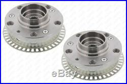 Wheel Hubs Set for Golf 2 3 Jetta 2 Conversion Kit from 5x100 with ABS Ring 22