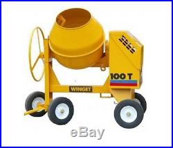 Winget Diesel Cement Mixer Rubber Wheel (Upgrade from Solid 100T 150T 175T 200T)