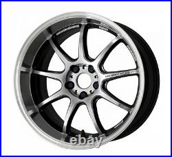 Work Emotion D9R 18x8.5 +47 +38 +32 5x114.3 GTSRC from Japan 4 rims wheels JDM