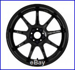 Work Emotion D9R 18x9.5 +38 +30 +23 +12 5x114.3 BLK from Japan 4 rims wheels JDM