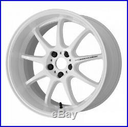 Work Emotion D9R 18x9.5 +38 +30 +23 +12 5x114.3 WHT from Japan 4 rims wheels JDM