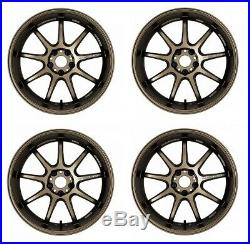 Work Emotion D9R 19x9.5 +38 +30 +23 +12 5x114.3 AHG from Japan 4 rims wheels JDM