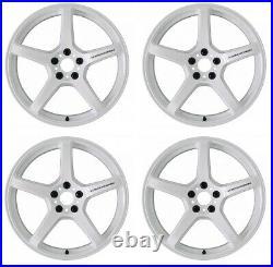Work Emotion T5R 18x10.5 +22, +12 5x114.3 ICW from Japan 4 rims wheels JDM