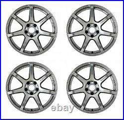 Work Emotion T7R 18x10.5 +22 +12 5x114.3 GTS from Japan 4 rims wheels JDM