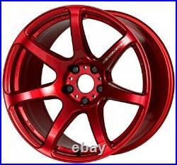 Work Emotion T7R 18x9.5 +38 +30 +22 +12 5x114.3 CAR from Japan 4 rims wheels JDM