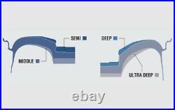 Work Emotion ZR10 17x8.0 +47, +35 5x114.3 BLKLC from Japan 4 rims wheels JDM