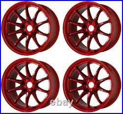 Work Emotion ZR10 17x9.0 +32, +17 5x114.3 CAR from Japan 4 rims wheels JDM