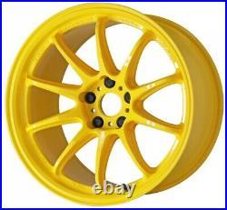 Work Emotion ZR10 17x9.0 +32, +17 5x114.3 UY from Japan 4 rims wheels JDM