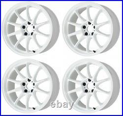 Work Emotion ZR10 18x10.5 +22, +12 5x114.3 AZW from Japan 4 rims wheels JDM