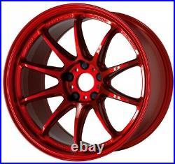 Work Emotion ZR10 18x10.5 +22, +12 5x114.3 CAR from Japan 4 rims wheels JDM