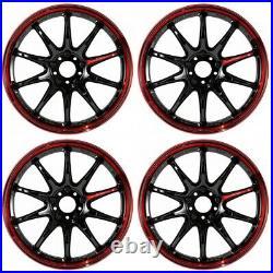 Work Emotion ZR10 18x8.5 +38 5x120 BRM from Japan 4 rims wheels JDM