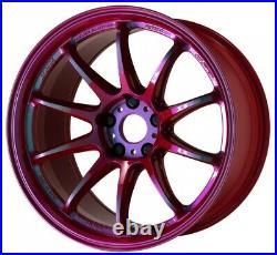 Work Emotion ZR10 19x9.5 +38, +30, +23 5x114.3 ARR from Japan 4 rims wheels JDM