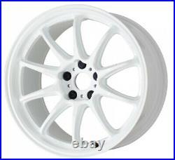 Work Emotion ZR10 19x9.5 +38, +30, +23 5x114.3 AZW from Japan 4 rims wheels JDM