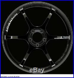 YOKOHAMA ADVAN RACING RGIII wheels 18x8.0J +42 Racing Gloss Black from JAPAN
