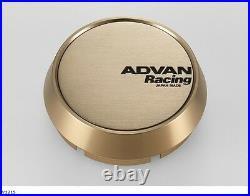 YOKOHAMA ADVAN Racing wheels Center Cap MIDDLE (73 bronze anodized) from JAPAN