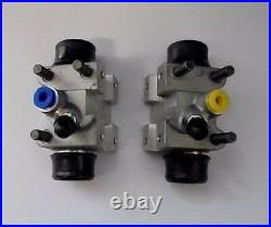 (x2) ROVER P4 (80 95 100 110) REAR BRAKE WHEEL CYLINDERS (From Sep 59- 64)