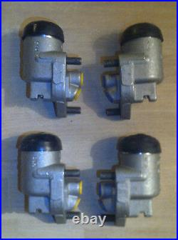 (x4) LEA FRANCIS 14 18 FRONT BRAKE WHEEL CYLINDERS (From 1952- 54)